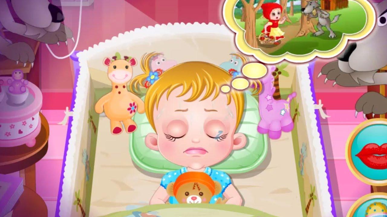 Baby Hazel hora de dormir juego de bebé online