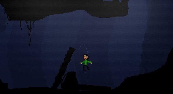 Brine juego para explorar bajo el agua flash