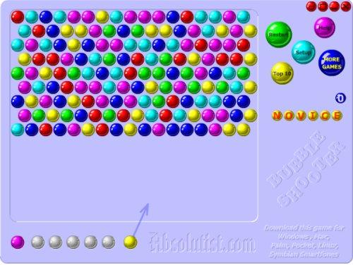 Bubble Shooter juego de puzzle online
