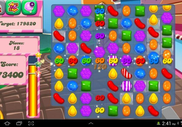 Jugar Candy Crush Saga juego de puzzle online