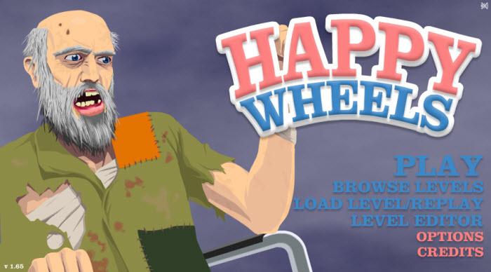Happy Wheels juego de carreras flash gratis