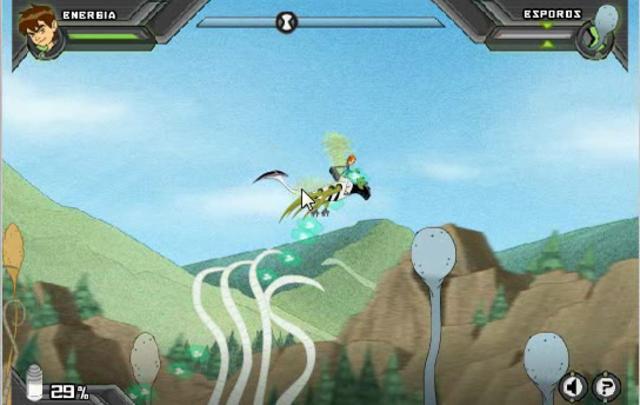 Juego de aventuras con Ben 10 online