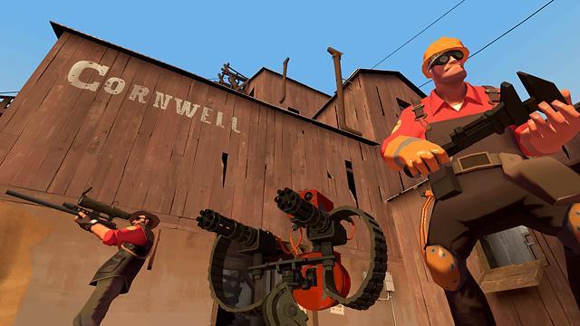 Juego de disparos team fortress 2