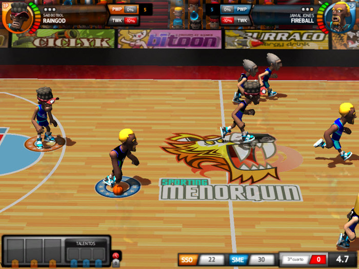 juego pc baloncesto: