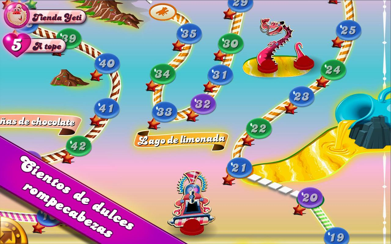 Candy Crush para iOS y Android gratis