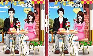 Diferencias en San Valentin online