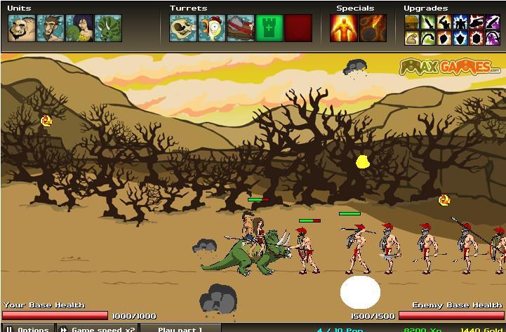 Age Of War 2 Juego De Guerra Online Gratis Juegos Gratis