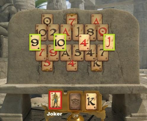 jugar Pyramid solitaire saga gratis