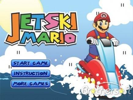 Mario Bros juego de agua