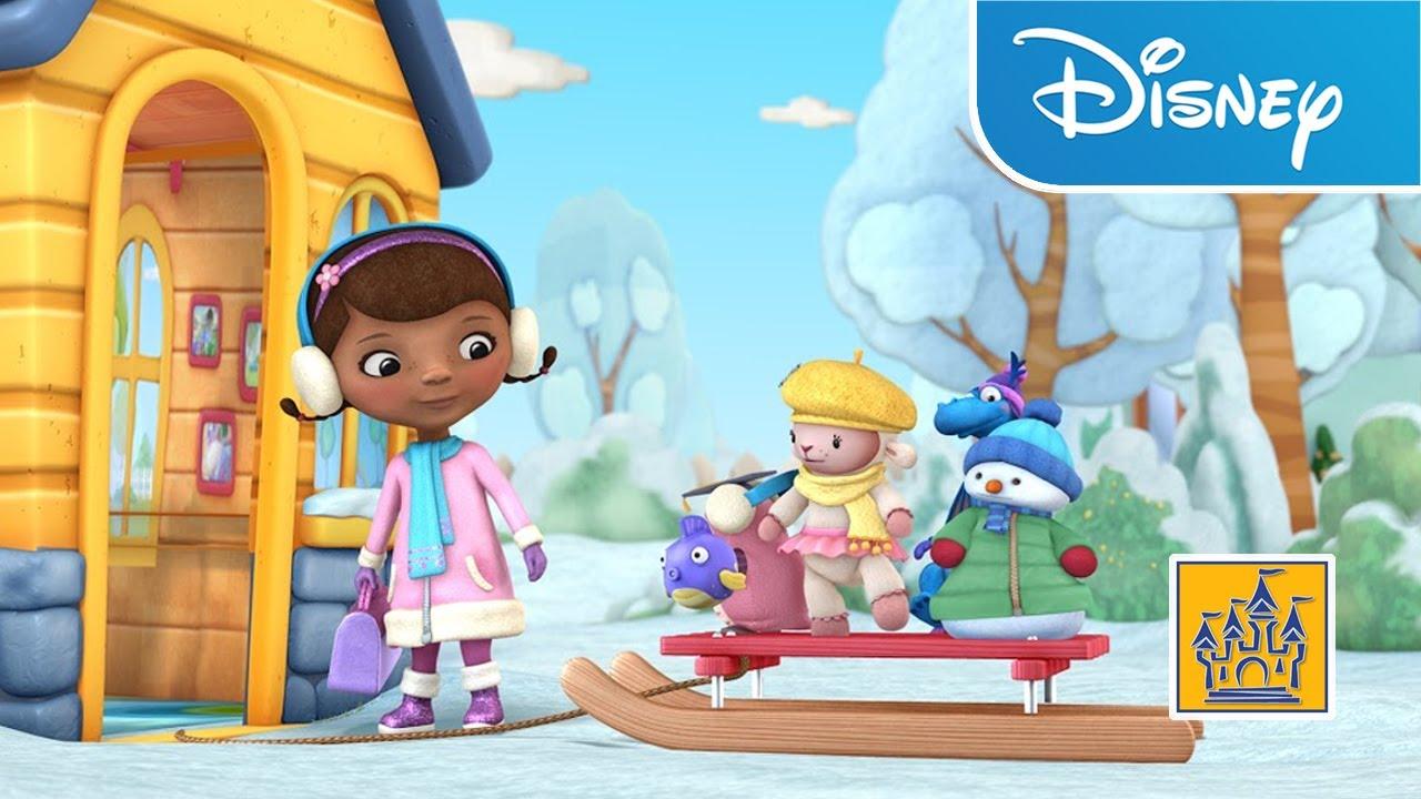 Jugar doctora juguetes Disney