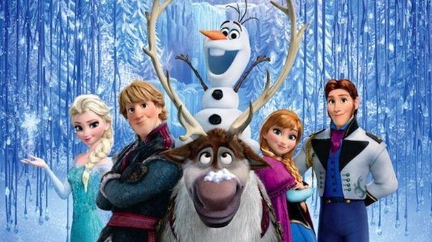 Juego de Frozen online, reconstruir a Olaf