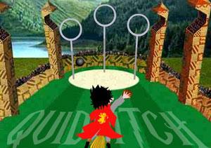 Juego de Harry Potter para jugar Quidditch
