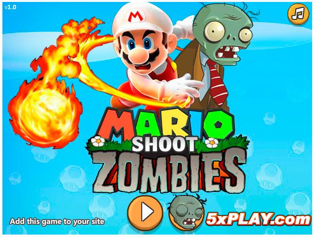 Jugar Mario Shoot Zombie online