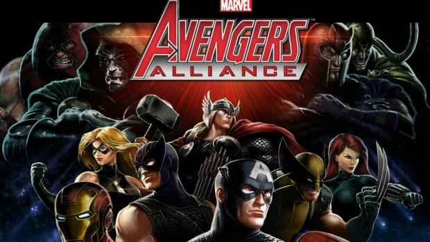 Jugar con amigos en Avengers Alliance de Facebook