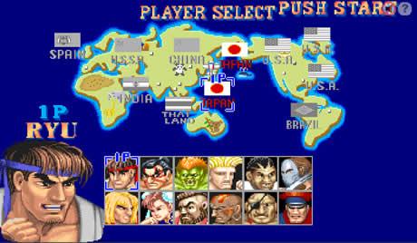Juego de Street Fighter 2 completo