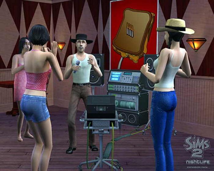 Juego de Los Sims 2 en flash