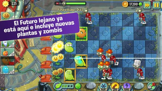 plantas vs zombies 2 gratis en iOS