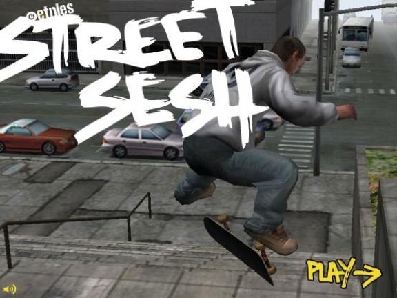 Juego Street Sesh online en patineta