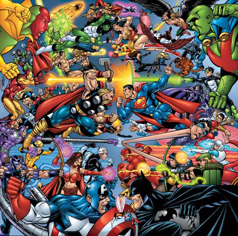 Juega X-men vs Liga de la Justicia online