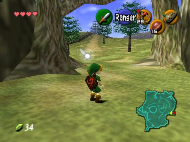 Jugar en internet Zelda: Ocarina of Time