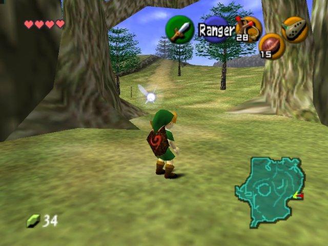 Jugar en internet Zelda: Ocarina of Time