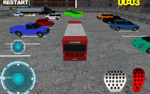 Jugar Bus Man Parking 3D online