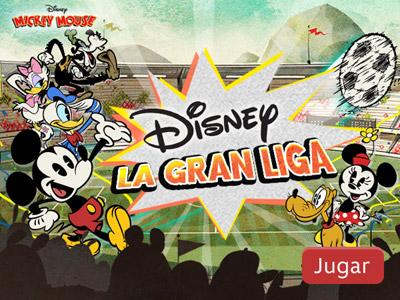 juego de Disney la gran liga