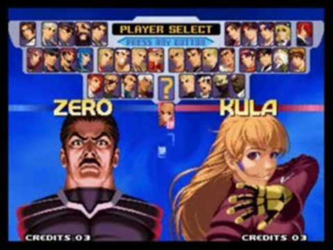 Juego de lucha King of Fighters