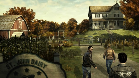 The Walking Dead, un juego de zombies