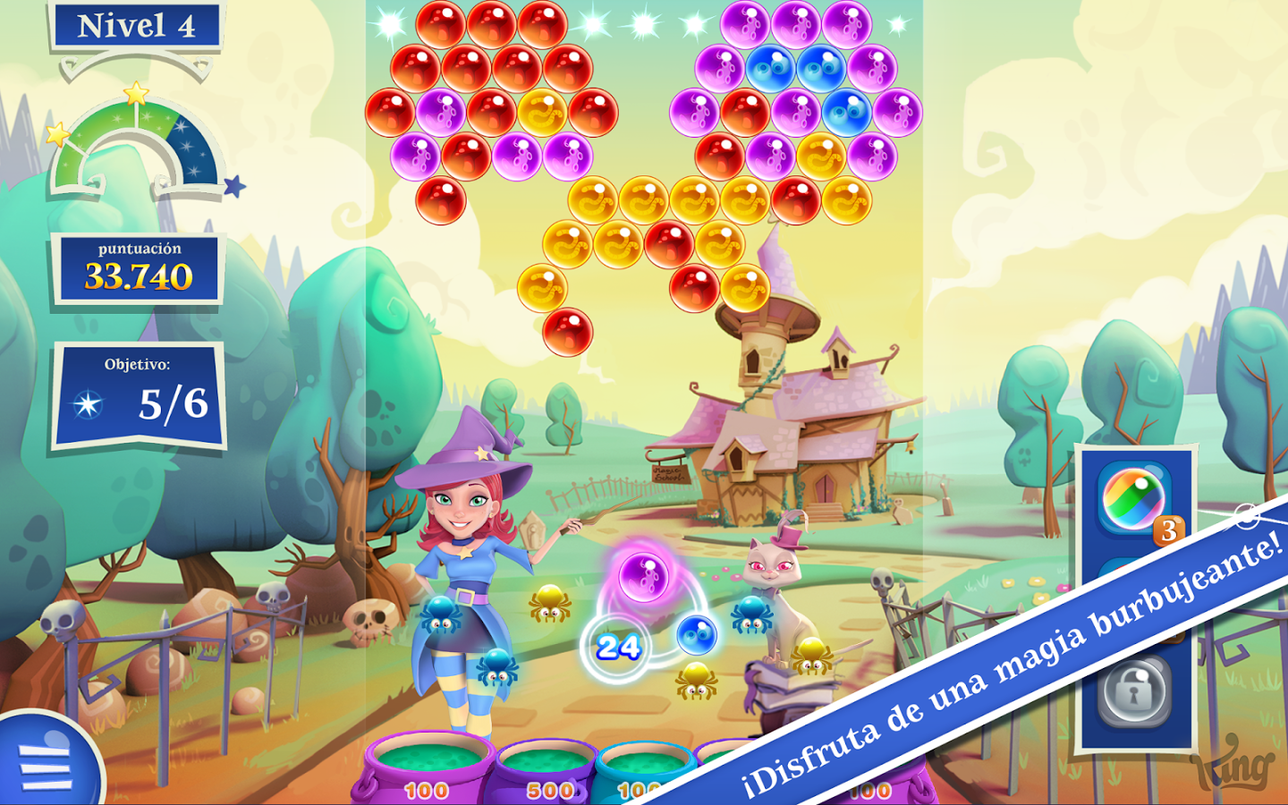 Bajar Bubble Witch 2 Saga en Android