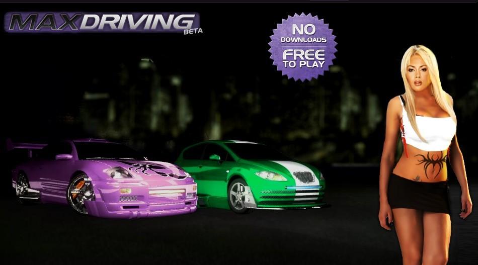 Juego de carreras online con MaxDriving