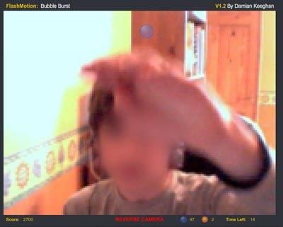 Juego online con webcam