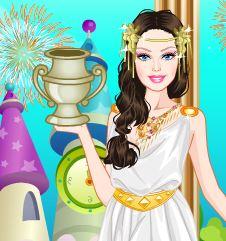 Jugar con diosa griega