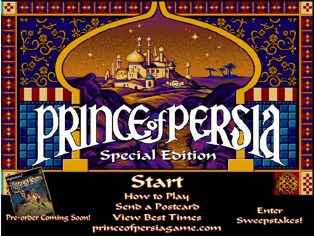 Jugar principe de Persia