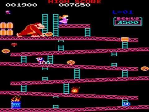 Juego clásico de Donkey Kong