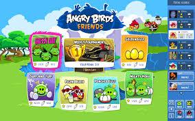 Juego de angry birds para Facebook