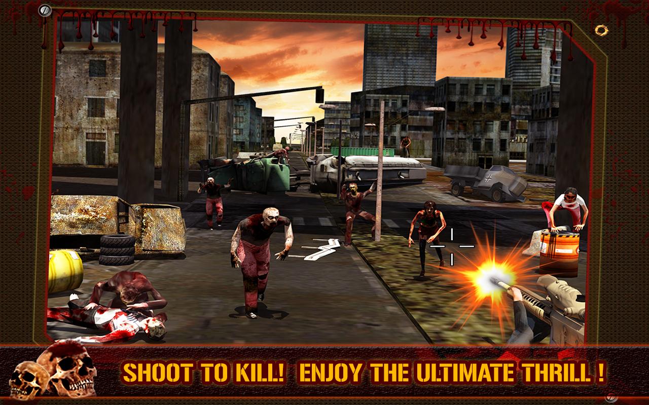 Juego gratis 3D Killer: Zombie Killer