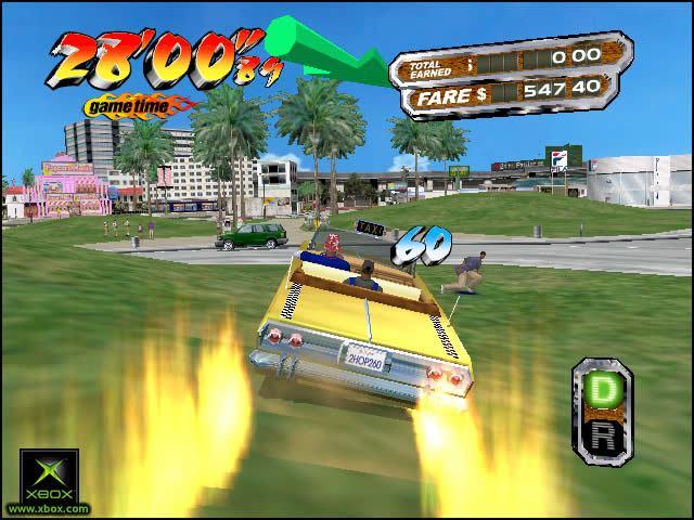 jugar al crazy taxi