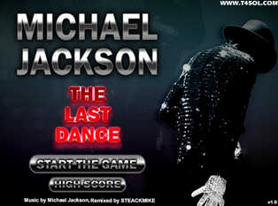 the last dance de michael jackson juego online