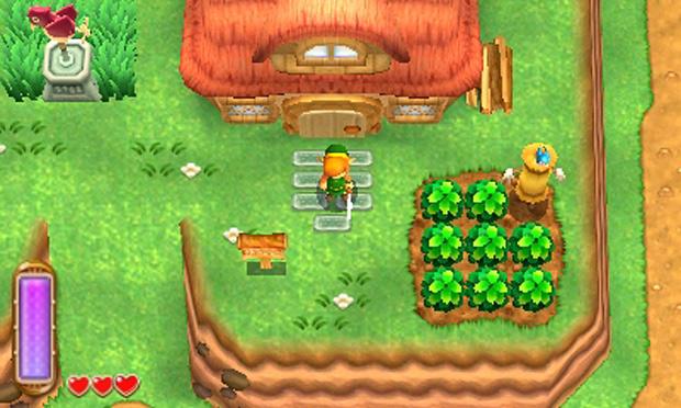 Juego Zelda modo héroe