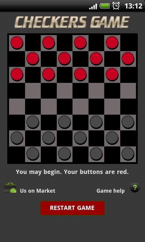 juego de checkers o damas online