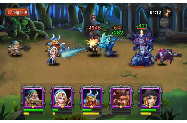 Heroes Charge para Android