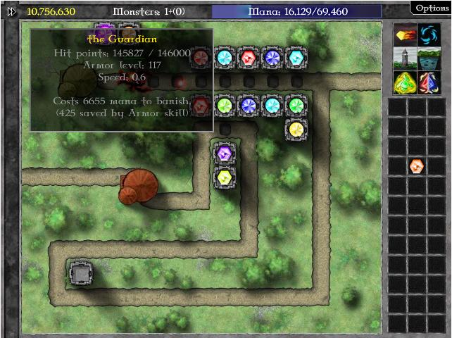 jugar al GemCraft