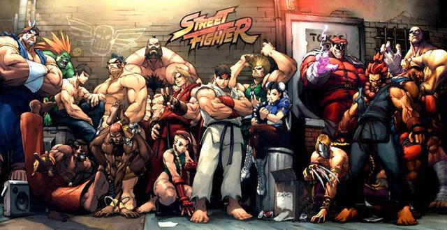 nuevo Street Fighter V
