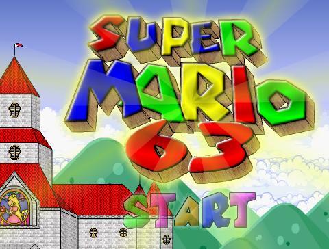 SUPER MARIO 63 online