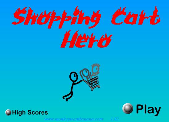 Jugar online Compras de héroe, un juego de tiro
