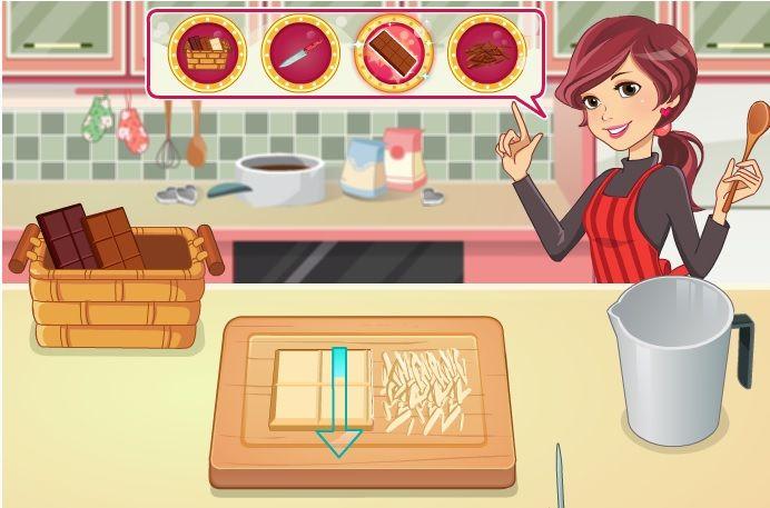 aprender a cocinar bombones y tortas juego flash cocina para chicas