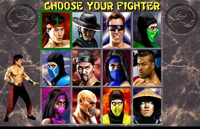 Juego de Mortal Kombat 2