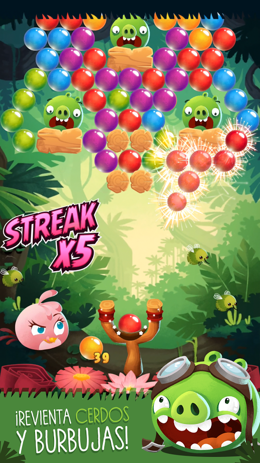 Bajar Angry Birds Stella POP!