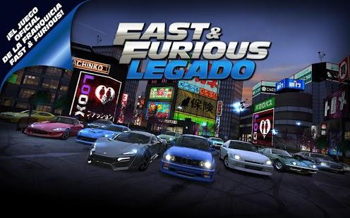 Descargar Fast & Furious Legado